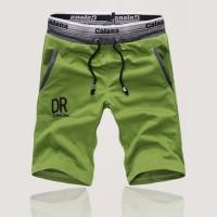 Import Celana Pendek Casual Lurus Musim Panas Warna Blok untuk Pria 1