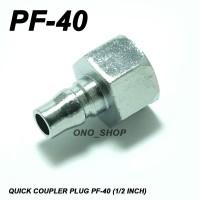 Quick Coupler Plug PF-40