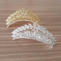 Mahkota Sirkam crown rambut pesta pengantin HCC13 - SILVER thumbnail