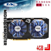 VGA AMD RADEON HIS RX 580 IceQ X² OC 4GB