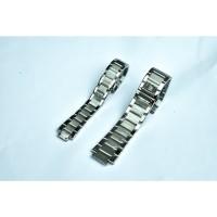 Tali jam tangan rantai stainlees steel Hublot pria dan wanita.