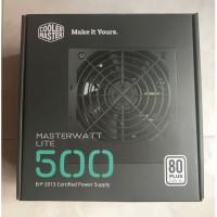 PSU Cooler Master MasterWatt Lite 500 - 500W 80+