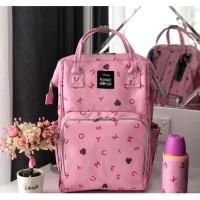 Tas Bayi Original Disney Diaper Bag Mickey Tosca Minnie Pink Mouse