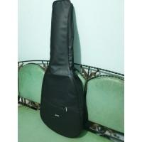 Tas Gitar Akustik Bahan Kulit Dalam Busa Ransel Jingjing Softcase