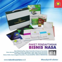 Paket Pendaftaran Distributor PT Natural Nusantara