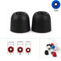 Memory Foam T200 Replacement For Earbud Earphone IEM Eartips