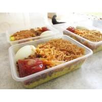 Nasi Kuning Manado / Cakalang Enak, Halal tanpa MSG
