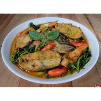 Lauk Ikan masak Woku Enak, halal tanpa MSG
