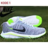 Sepatu Olahraga Pria Sport Sneakers Running Jogging Nike Flyknite