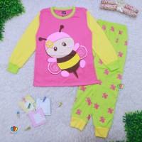 Piyama Za-ra Baby 3-18 Bulan / EXPORT Quality Baju Tidur Karakter Bayi