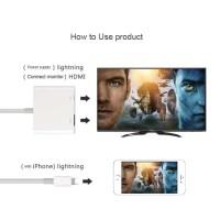 Converter Kabel Lightning to Digital AV HDMI Adapter for iPhone & iPad