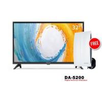 Coocaa 32A4 LED TV [32 Inch] FREE ANTENA DA-5200