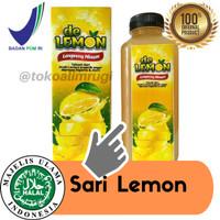 DE Lemon Sari Lemon Asli Plus Royal Jely - Minuman Diet