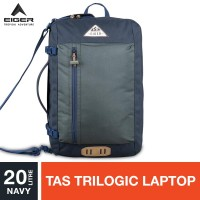 Eiger 1989 Borderpass 2.0 Lite Trilogic Bag 20L - Navy