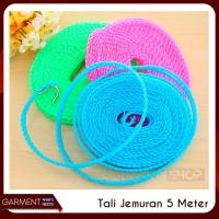 Tali Jemuran Unik Lubang 5 Meter Clothes Line Praktis Pink