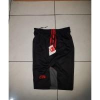 Celana lining-celana olahraga badminton lining hitam merah import