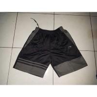 celana lining-celana olahraga badminton lining strip abu