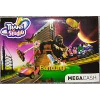 Kartu Voucher Megacash Mega Cash Trans Studio TRANSTUDIO Unregistered
