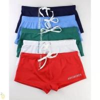 Celana Renang Pria model Boxer High Quality Swimwear men Import CR#003