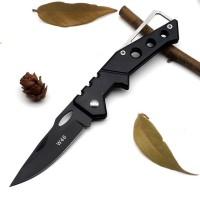 Pisau Saku Lipat Mini Serbaguna Portable Knife Survival