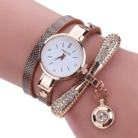 Carude RS-01 Jam Tangan Watches Shiny Rhinestone Watch With Pendant