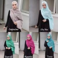 HS | HIJAB DAILY PASHMINA kerudung jilbab simple Sabyan Diamond Murah