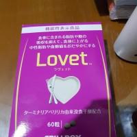 Lovet 60 pill box Pillbox obat diet Pill