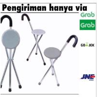 Tongkat duduk Sella / Alat bantu Jalan Tongkat kursi Lipat