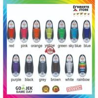 Premium Original COOLNICE Dewasa/silicone shoelace/ Tali Sepatu Karet