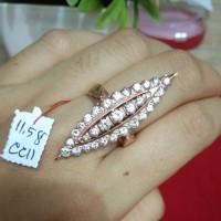 Cincin Elisabet berlian medan asli