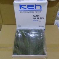 Filter Kabin /AC Jazz Lama, City Lama KEN Anti bacteria (hijau)
