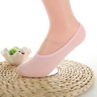 kaus kaki wanita polos ladies invisible socks fse136