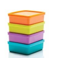 Mini Square Away (4) Toples Tupperware