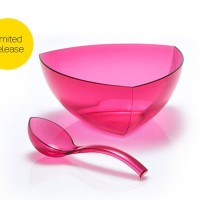 Lotus Large Bowl With Laddle 4 L (1) Wadah saji Tupperware
