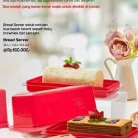 Bread Server Red - Merah Wadah Toples Roti Tupperware