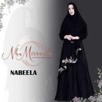 MBM PREORDER NABEELA [GAMIS KHIMAR] BY NHA MIRANDA - M