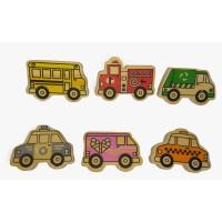 Mainan Edukasi Anak / Mainan Kayu - Miniatur Transportasi