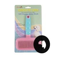 AB-02EC self cleaning slicker brush