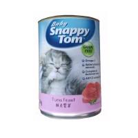 baby snappy tom 400 gr kitten tuna feast (can)