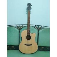 Gitar Akustik Elektrik Merk Cowboy Original Natural GWC-39 NA Eq Toner