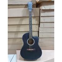 Gitar Akustik Merk Spectrum Original Tipe Sp-109C NS HItam Jakarta