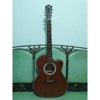 Gitar Akustik Elektrik Merk Cowboy Original Natural GWC-39 NS Eq Toner