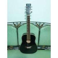 Gitar Akustik Merk Martin Ukuran 3 per 4 Travel Warna Hitam Jakarta