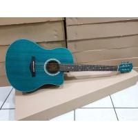 Gitar Akustik Merk Spectrum Original Tipe Sp-109C NS Hijau Jakarta