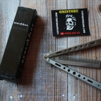 Benchmade Balisong Comb / Sisir Lipat Besi