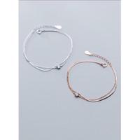DearMe - Martha Bracelet (S925 with 18K Gold Plating & Crystals)