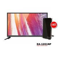 Coocaa 24D2A TV LED [24 Inch] FREE ANTENA DA-1201NP