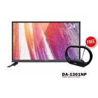 Coocaa 24D2A TV LED [24 Inch] FREE ANTENA DA-1301NP
