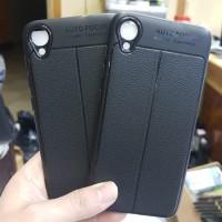 Asus Zenfone Live L2 slim leather case auto focus carbon soft