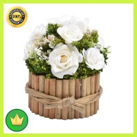 Bunga Kering Asli Y50 15.5 Cm - Putih